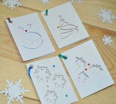 Laser Cut Christmas Gift Tags available from notonthehighstreet.com and www.sweetpeadesign.co.uk