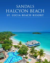 Sandals Halcyon Beach in St. Lucia...Our dream vacation is coming true very soon!  So excited!!