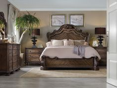 The Rhapsody Panel Bedroom Collection 15642