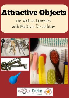 Attractive objects for Active Learners with visual impairments and multiple disabilities