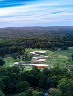 Part cultural center, part spiritual retreat, the recently unveiled Grace Farms complex in New Canaan, CT, is, at its core, a tribute to the landscape.