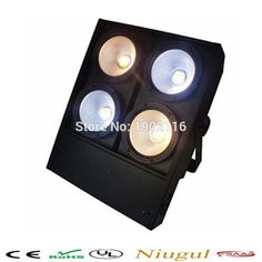 (216.00$)  Buy here - http://ai3yd.worlditems.win/all/product.php?id=32796241554 - Best quality 4 eyes led blinder light 4x100w cob cool warm white led blinder light
