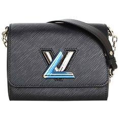 66d0af979648 Preowned Louis Vuitton New Black Epi Twist Pm Bag Shw Rt.  3