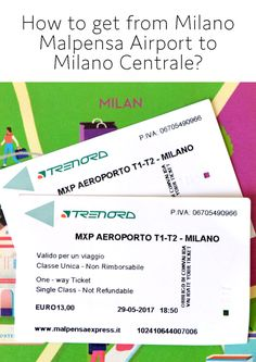 Find options of transportation from Milano Malpensa Airport to Milano Centrale Emotional Connection, I Want To Travel, Travel Ideas, Family Travel, Milan, Transportation, Travel Destinations, How To Plan, Education