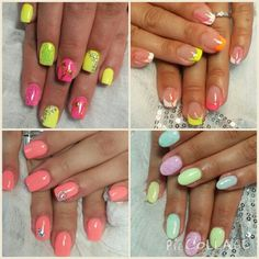 Typical colours for summer are the NEONS!! :)