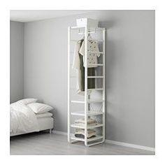Perfect ELVARLI Elemente wei Clothes storage systems Clothes rail and Clothes storage