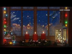 Relaxing Christmas Music Playlist with Heavenly Christmas Ambience - YouTube Christmas Shows, Christmas Night, Merry Christmas, Christmas Villages, Christmas Traditions, Christmas Music Playlist, Music Mix, Sound Music, Christen