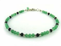 AA0240 Aventurine Onyx Natural Crystal Bead Anklet Wagga Shop. $15.99. Onyx Round 4mm. Natural Crystal Bead Anklet. Aventurine Round 4mm. Save 20% Off!