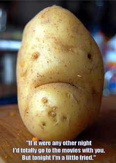 Image result for potato alone