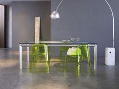 Trono (Ettore Sottsass and Associati) and Yoga (Bartoli Design).