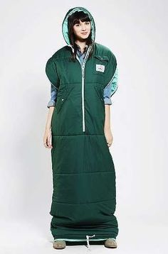 Poler's Wearable Sleeping Bag Turns Camping Equipment into Fashion trendhunter.com