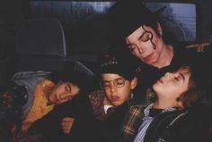 Michael Jackson and the Cascio kids