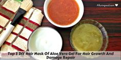 Apply aloe vera gel for hair nourishment as it contains nutrients which promote hair growth, repairs dull hair, provides moisture & makes hair soft & shiny.