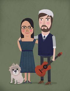 Portraits — Ryan Feerer Design & Illustration