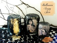 DIY Halloween : DIY HALLOWEEN SCARY JARS DIY Halloween Decor