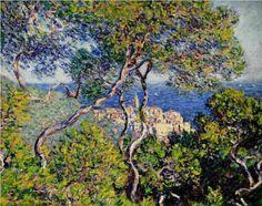 Bordighera, 1884, Claude Monet