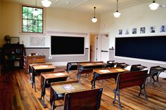 The renovated Ridgeley Rosenwald school in Capitol Heights, Md., now operating as a museum