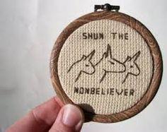 honey badger cross stitch - Sök på Google