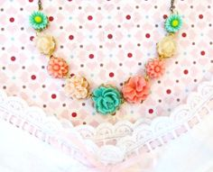 Last One  Annie Sweet Necklace  by 4TasteofShabbyChic on Etsy, $55.00