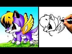 """""""How to draw a wolf"""" - """"How to draw animals"""" - """"How to draw cartoons"""" - """"easy cartoon drawings"""" New Fun2draw videos EVERY WEEK: http://www.youtube.com/fun2draw     Watch these AWESOME Fun2draw playlists:    How to Draw Fantasy Characters  http://www.youtube.com/playlist?list=PLB23465365E144986    How to Draw Wolves & Foxes!  http://www.youtube.com/playl..."""