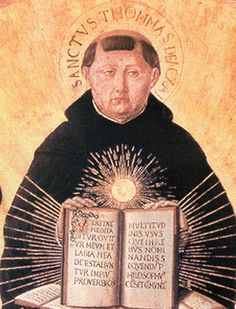Another Saint Thomas, like a previous one I've pinned. It's his Feastday today, January and the beginning of Catholic Schools Week. Catholic Schools Week, Catholic Art, Catholic Saints, White God, Saint Thomas Aquinas, Christian Religions, Les Religions, People Of Interest, Renaissance