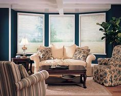 We are loving these wood blinds!