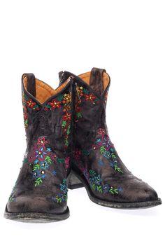 Zwarte Mexicana boots Sozey zipper L1137-1 enkelaarsjes