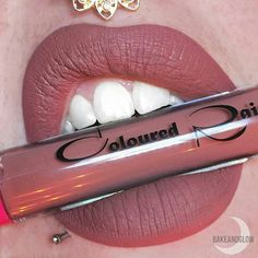 Some #liquidlipstick are just simply out of this world  ... #Mars by #ColouredRaine is definitely one of them.  Lip swatch by @bakeandglow❤️❤️❤️❤️ #colouredraine #mars #liquidlipstick #makeup #makeupartist #cosmetics #eyes #lips #lipstick #flawless #sexy #vegan.