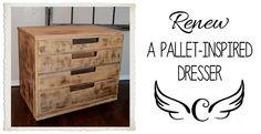 pallet dresser feature