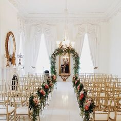about to watch justin's brother get married in this gorgeous room...