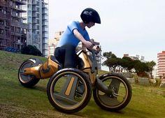 Future Transportation - Eco Cars: Spin Vehicle – Drive as you like!