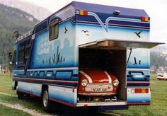 Check out these 8 awesome car carrying motorhomes. When money is no option, and you want to bring your car with you on your road trip, nothing else is better than having one of these awesome car carrying RVs. Some of these have storage for a car underneath, while others store them in the rear [Continue Reading]