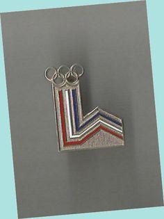 1980 Lake Placid Olympics Lapel Pin EX - Robert Wagenhoffer Collection