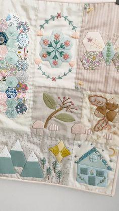 Vintage Quilts Patterns, Quilt Square Patterns, Patchwork Quilt Patterns, Beginner Quilt Patterns, Free Paper Piecing Patterns, Hexagon Quilt Pattern, Free Applique Patterns, Sewing Patterns, Patchwork Tutorial