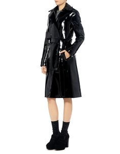 Carven: Patent Trench Coat (item view - 3)
