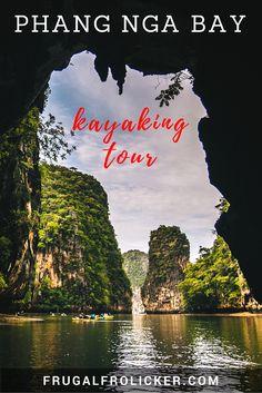 Kayaking The Caves and Islands of Phang Nga Bay, Thailand