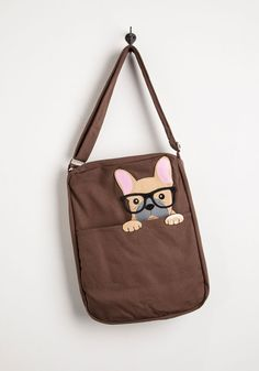 Got One Friend in My Pocket Bag in Pup | Mod Retro Vintage Bags | ModCloth.com