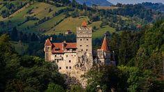 Bran Castle en Rumanía. Castillo de Drácula