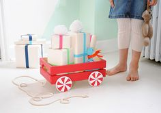 Make a Holiday Wagon for Gifts (and More) on Etsy