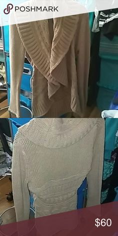 cdd3c4d3 Sweater Good Condition Never Worn Spring Sweater With Hood. New York &  Company Sweaters Cardigans