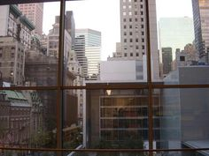 Window @ MoMA