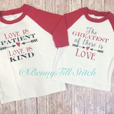 Matching valentines shirts|Matching sibling shirts|sibling valentines shirts|coordinating valentines shirts|ragland valentines shirts| by BennyTillStitch on Etsy https://www.etsy.com/listing/262913570/matching-valentines-shirtsmatching