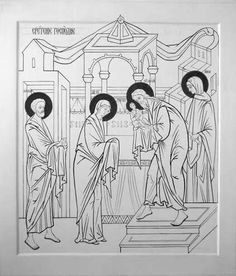 Paint Icon, Life Of Christ, Byzantine Icons, Religious Icons, Orthodox Icons, Christian Art, Coloring Pages, Religion, Creations