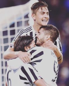 Dybala, Khedira and Morata. The Juventus match's scorers of today! I'm so proud ⚪️⚫️ #Juventus #FinoAllaFine #SerieA