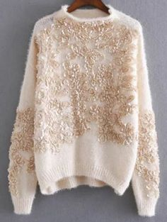 SHARE & Get it FREE | Floral Applique Pullover SweaterFor Fashion Lovers only:80,000+ Items • New Arrivals Daily Join Zaful: Get YOUR $50 NOW!
