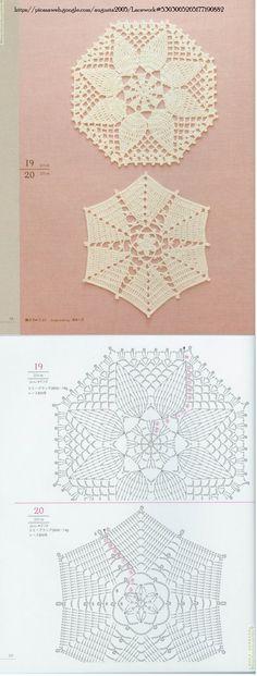Crochet Lace Motifs