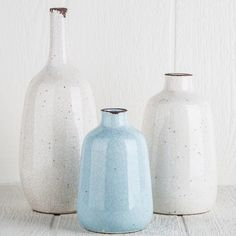 Dolce Crackle Vases