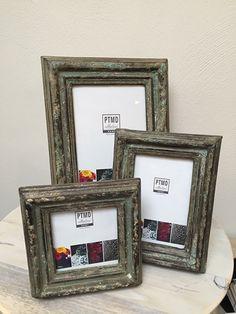PTMD fotolijst Madera brown/green | * Fotolijstjes | zuzz en Zo wonen