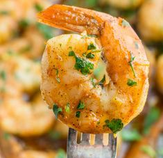 Spicy Honey Shrimp