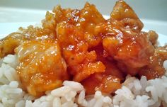 Sweet and Sour Chicken  I used chicken nuggets I had in the freezer. My husband says I can keep the recipe!